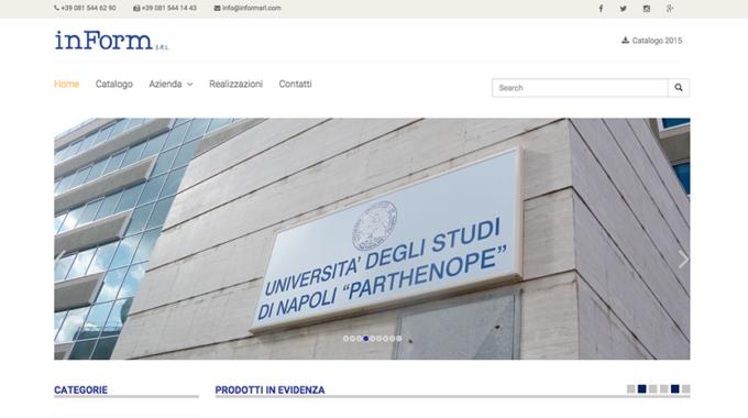 Restyling Sito Web, InForm S.r.l Cambia Pelle E Risultati.